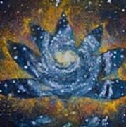 Spiral Bloom Poster