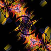 Spiral Of Burning Desires Poster
