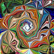 Spiral Splendor Poster