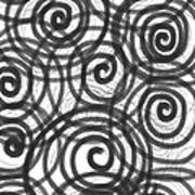 Spirals Of Love Poster by Daina White