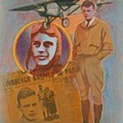 Lindbergh, Spirit Of St. Louis Poster