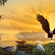 Spirit Of The Everglades Poster