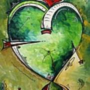 Spirit Of The Heart By Madart Poster