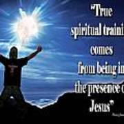 Spiritual Training Poster