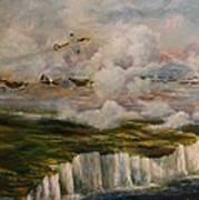Spitfire's Over Dover Poster