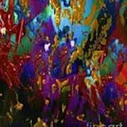 Splatter Poster by Doris Wood