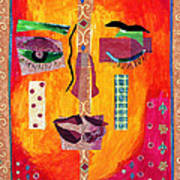 Split Personality Poster by Diane Fine