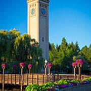 Spokane Clocktower Poster