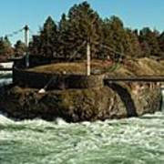 Spokane Falls - Spokane Washington Poster by Beve Brown-Clark Photography