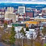 Spokane Washington Poster