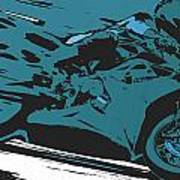 Sportbike Racer Poster