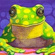 Spotted Frog Poster