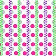Spotty Stripe Poster