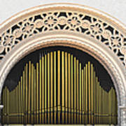 Spreckels Organ Balboa Park San Diego Poster