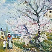 Spring Blossom Poster by Henri Richet