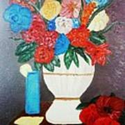 Spring Bouquet In A Vase Poster