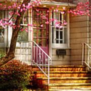 Spring - Door - Dogwood  Poster
