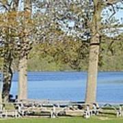 Spring Fed Shepherd Lake Poster