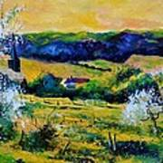 Spring In Matagne  Poster