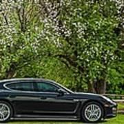 Spring Porsche Poster