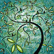 Spring Shine By Madart Poster by Megan Duncanson