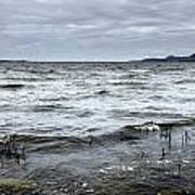 Spring Storm On Lake Champlain Poster