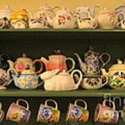 Spring Teapots  Poster