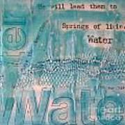 Springs Of Living Water Poster