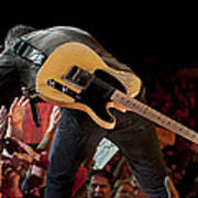 Springsteen In Charlotte Poster