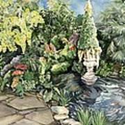 springtime at the Allan gardens Poster