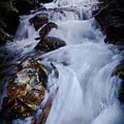 Springtime Waterfall Poster