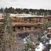 Spruce Tree Cliff Dwelling Canyon Poster