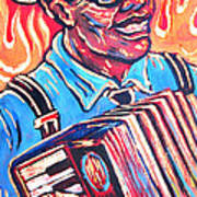Squeezebox Blues Poster