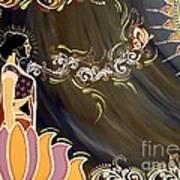 Sri Lalita Poster by Meenakshi Malhotra