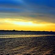 St Andrews Bay Sunset Poster