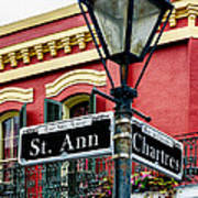 St. Ann And Chartres Nola  Poster