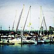 St. Augustine Sailboats Poster