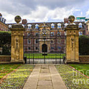 St Catharine S College Poster