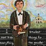 St Dominic Savio Poster