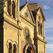 St. Francis Cathedral - Santa Fe Poster