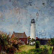 St. George Island Historic Lighthouse Poster