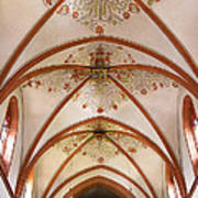 St Goar Organ And Ceiling Poster