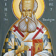 St Gregory The Theologian Poster
