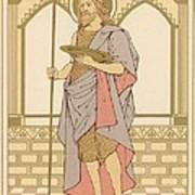 St John The Baptist Poster by English School