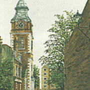 St Johns Church Wapping From Scandrett Street Poster