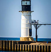 St. Joseph Outer Lighthouse Photo Poster by Paul Velgos
