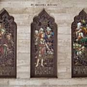 St Josephs Arcade - The Mission Inn Poster by Glenn McCarthy Art and Photography