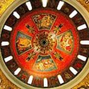 St. Louis Cathedral Dome Poster