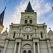 St Louis Cathedral Twilight Poster