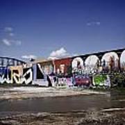 St Louis Graffiti Poster